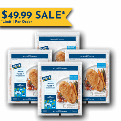 Perdue Boneless Skinless Chicken Breasts Value Bundle