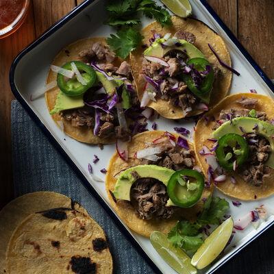 Crock-Pot Pork Tacos