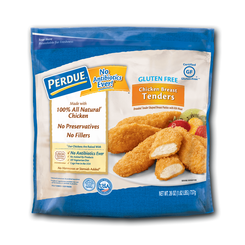 Perdue Breaded Chicken Breast Tenders Gluten Free image number 0