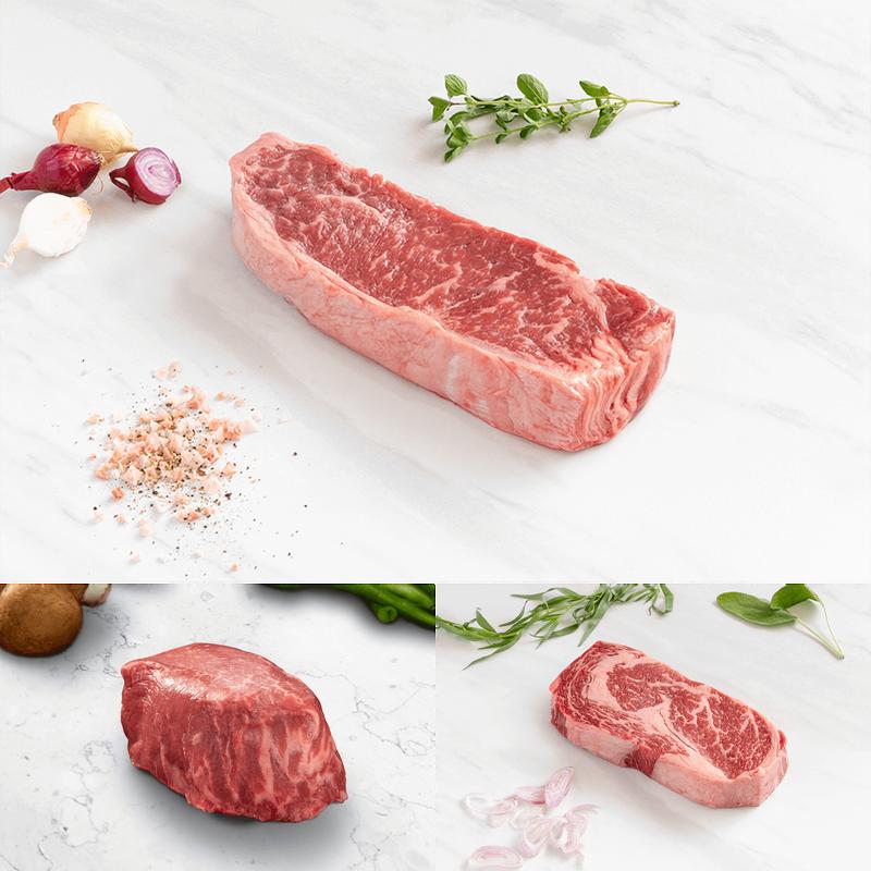Niman Ranch Prime Steak Flight image number 1