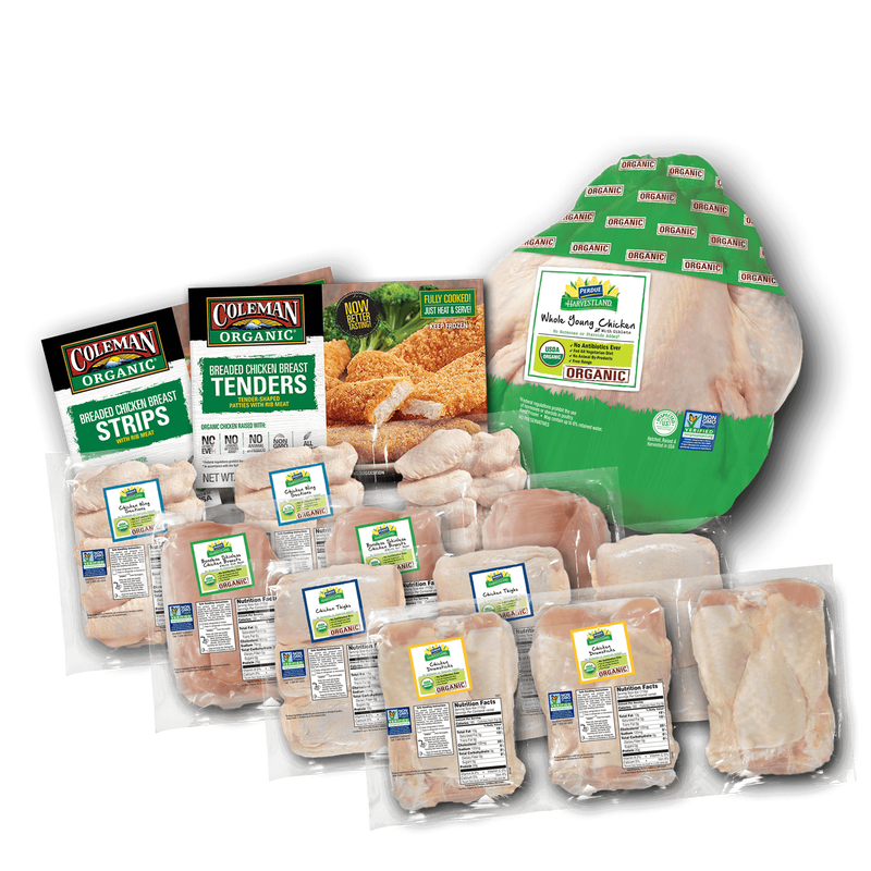 From Our Family to Yours Organic Chicken Bundle image number 0