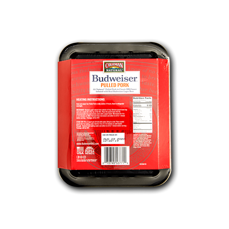 Coleman Natural Budweiser® BBQ Classic Pulled Pork image number 1