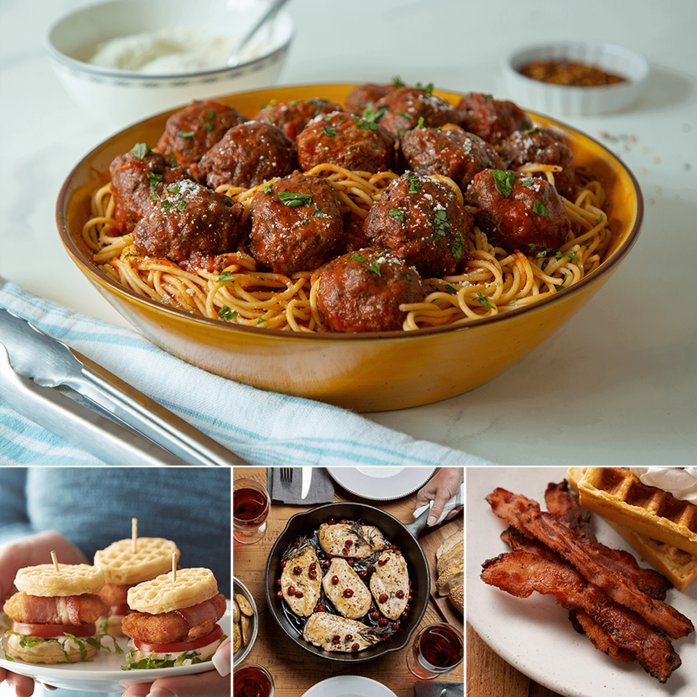 Family Favorites Chicken, Beef and Bacon Bundle image number 2