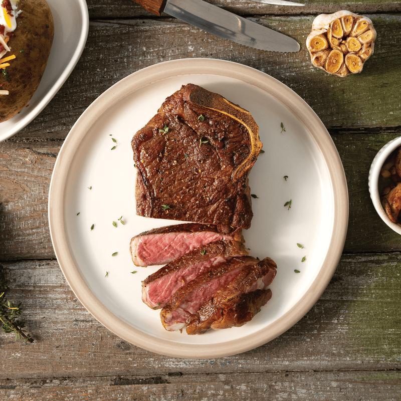 Niman Ranch Bone-In Strip Steak image number 0