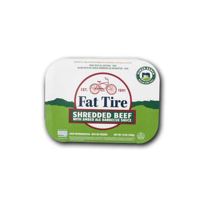 Niman Ranch Fat Tire Shredded Beef