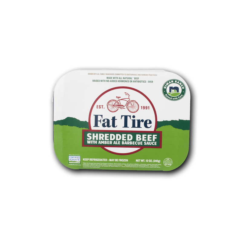 Niman Ranch Fat Tire Shredded Beef image number 0