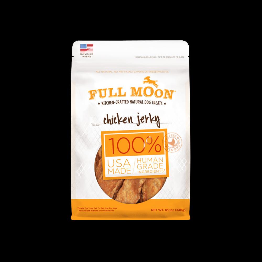 Full Moon Chicken Jerky Dog Treats image number 0