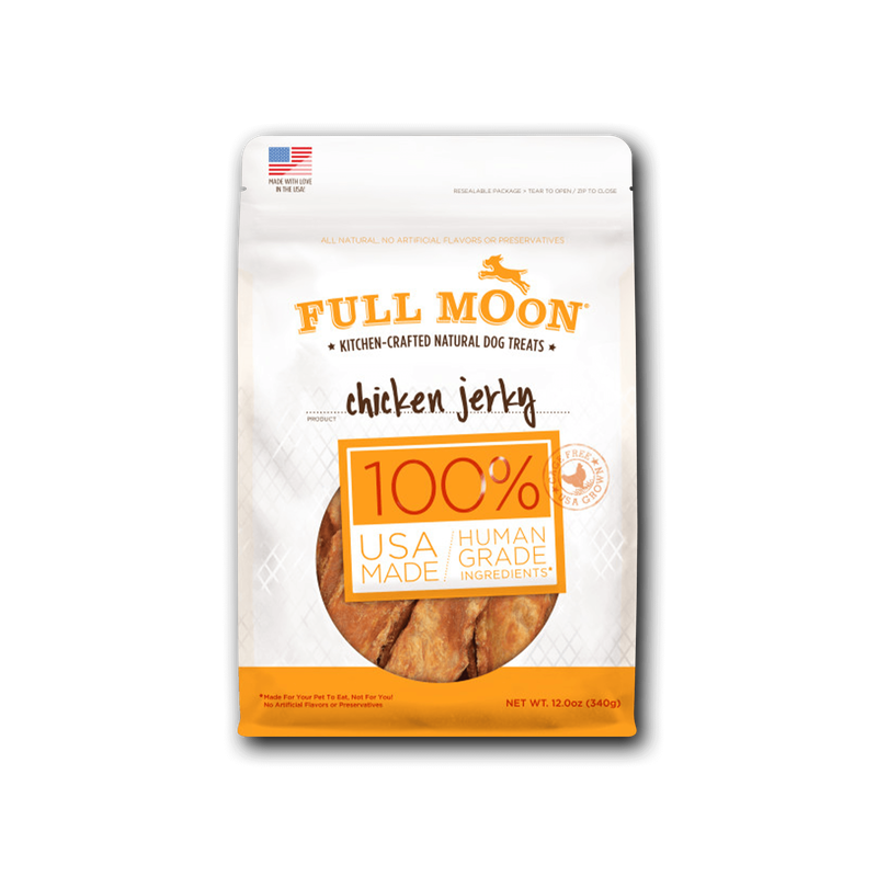 Full Moon Chicken Jerky Dog Treats image number 0