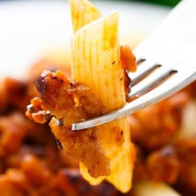 Rigatoni with Meat Sauce and Swiss Chard image number 0