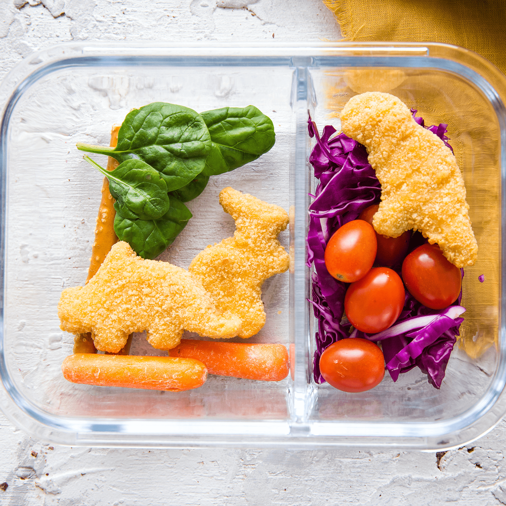 Yummy Dino Buddies All-Natural Dinosaur-Shaped Chicken Breast Nuggets image number 2