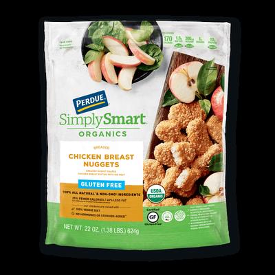 Perdue SimplySmart Organics Breaded Chicken Breast Nuggets Gluten Free