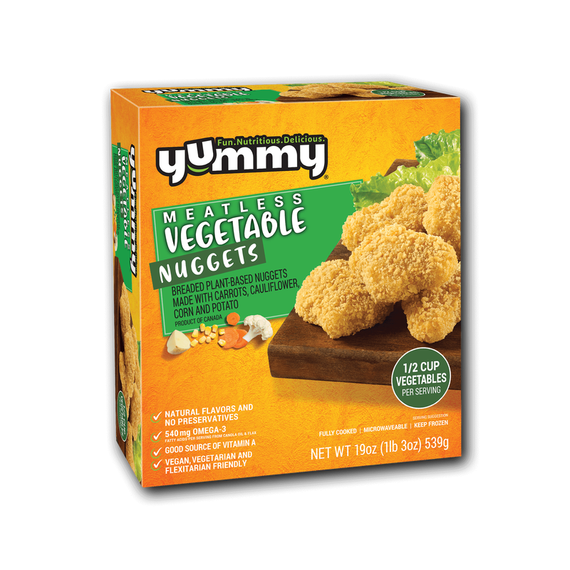 Yummy Meatless Vegetable Nuggets image number 3