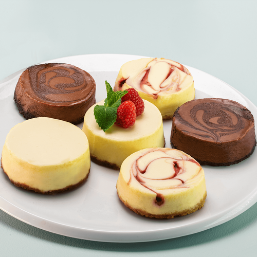 Individual Assorted Cheesecakes