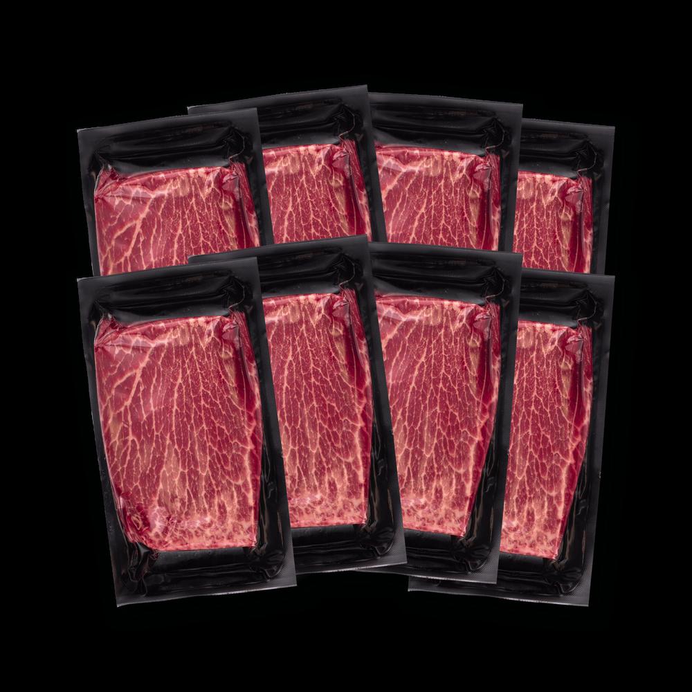 Niman Ranch Flat Iron Steak Gathering image number 1