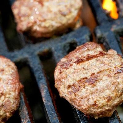 Grass-Fed Ground Beef Burgers