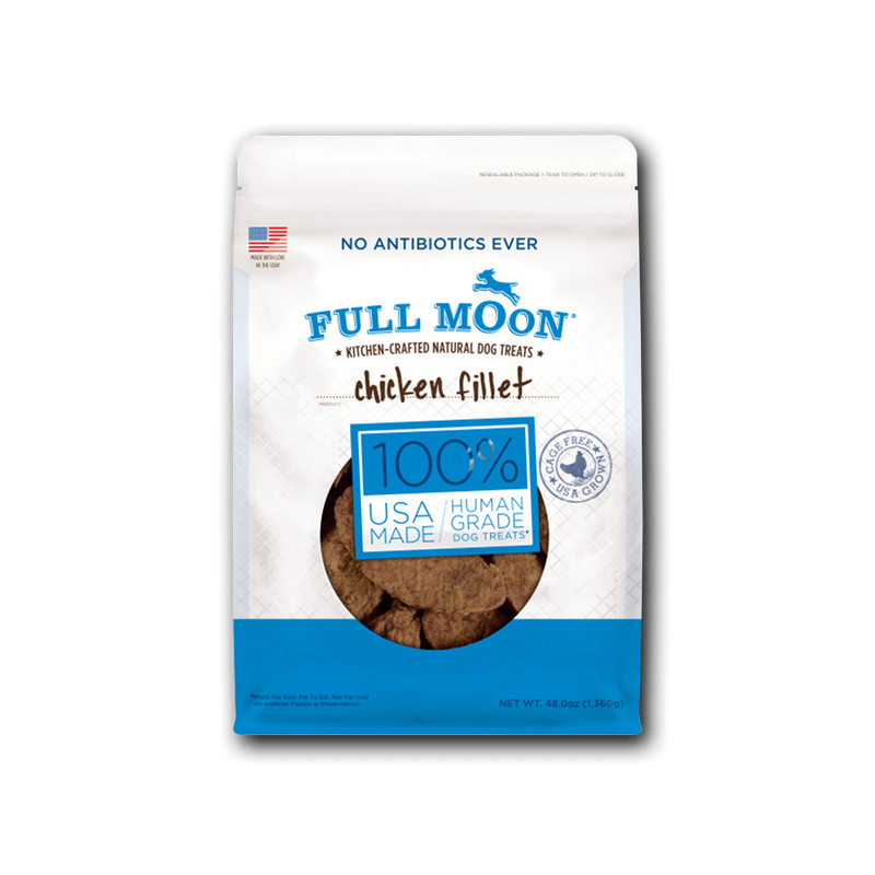 Full Moon Chicken Fillets Dog Treats image number 0