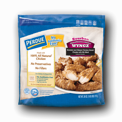 Perdue Bourbon-Style Boneless Chicken Wyngz