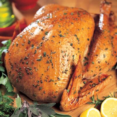 Easy Roast Turkey With Herbs
