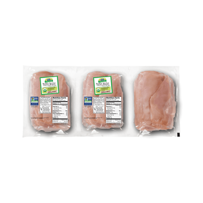 Perdue Harvestland Organic Boneless Skinless Chicken Breasts Pack
