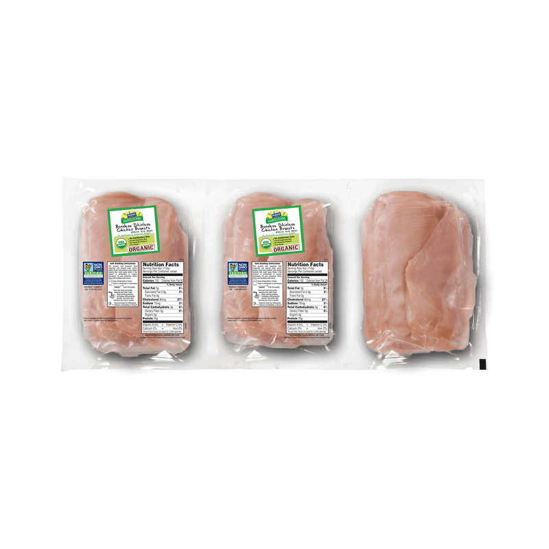 Perdue Harvestland Organic Boneless Skinless Chicken Breasts Pack image number 0