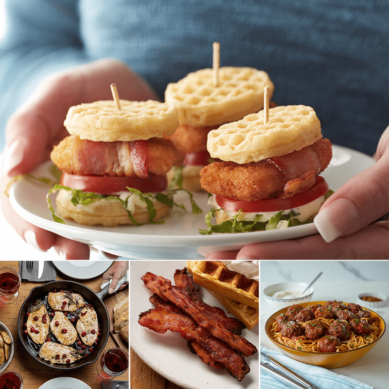 Family Favorites Chicken, Beef and Bacon Bundle image number 3