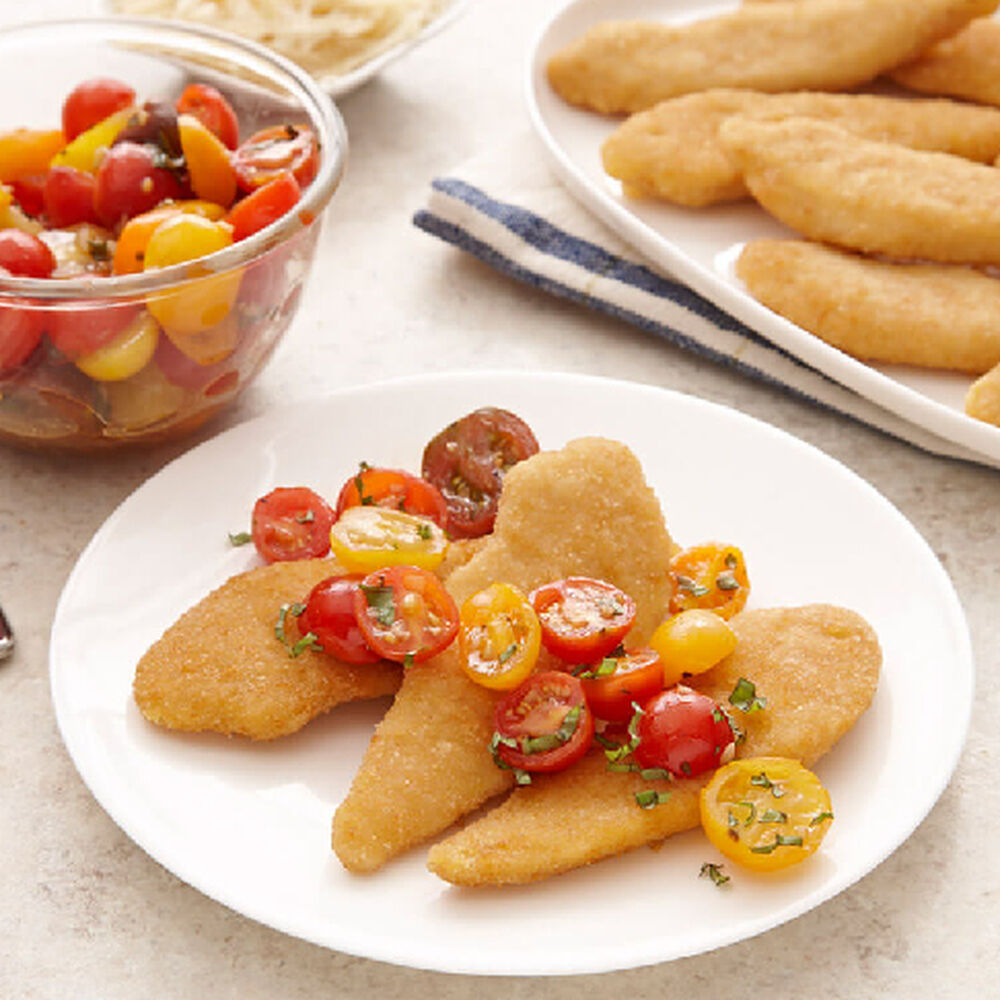 Italian Chicken Tenders With Fresh Tomato Relish image number 0