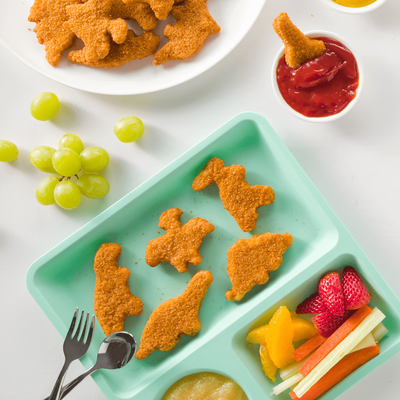 Yummy Dino Buddies Meatless Plant-Based Dinosaur-Shaped Protein Nuggets image number 1