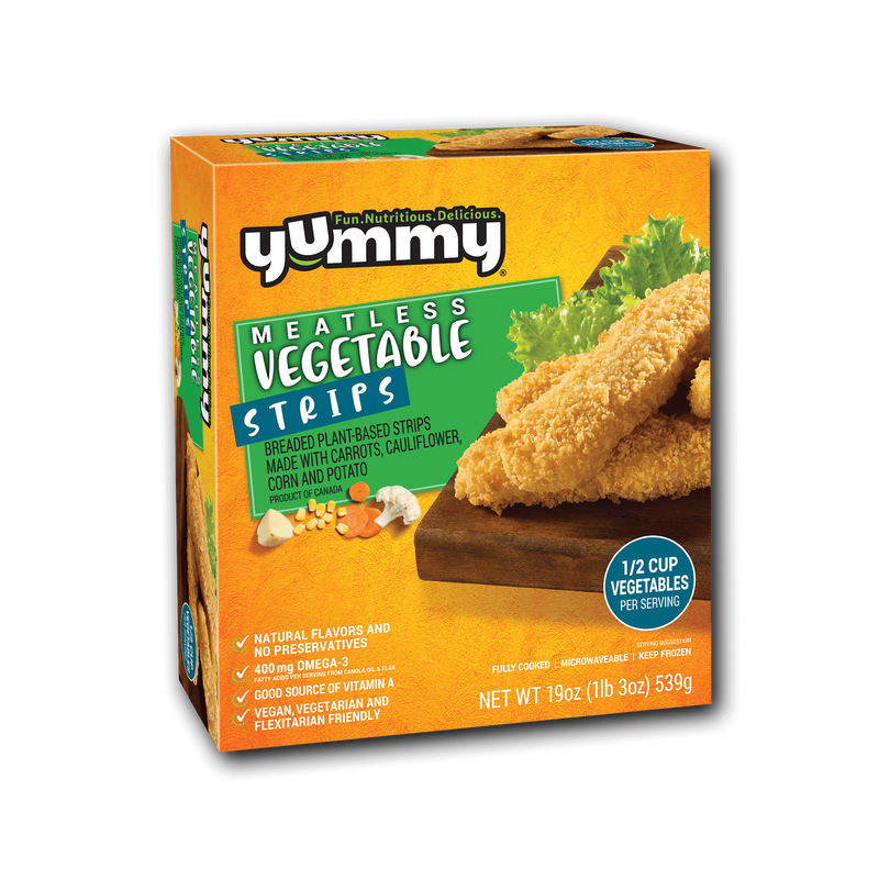 Yummy Meatless Vegetable Strips image number 3