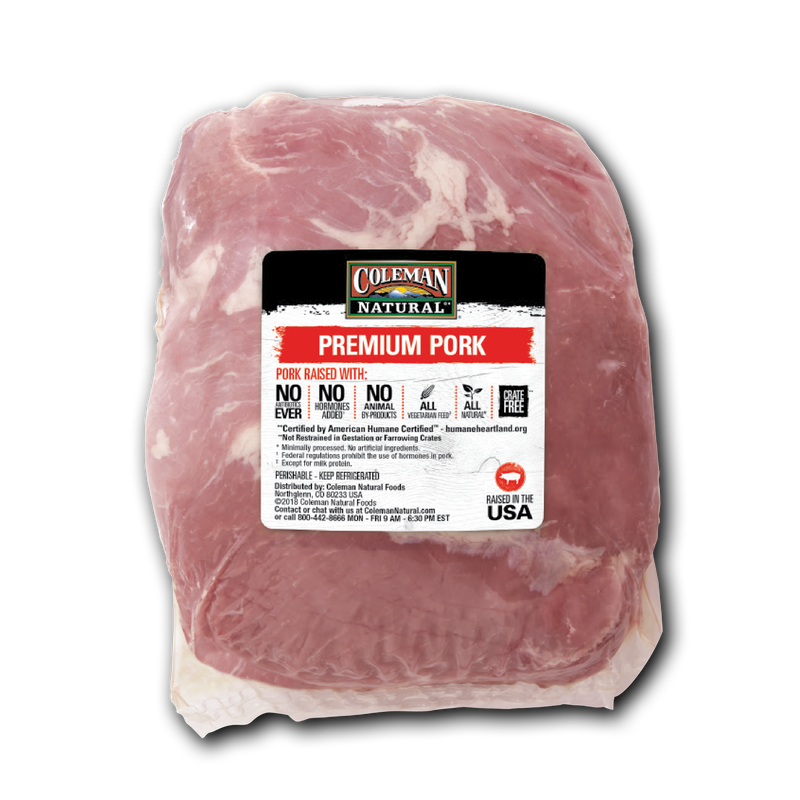 Coleman Natural Boneless Pork Loin Roast image number 0