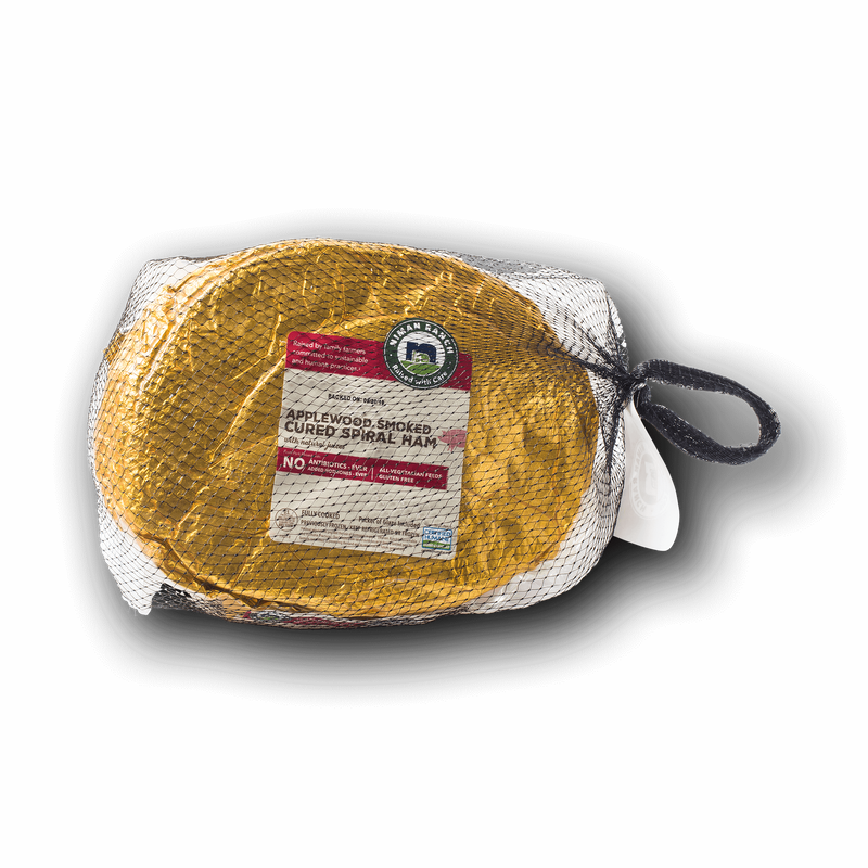 Niman Ranch Applewood Smoked Spiral Ham image number 1