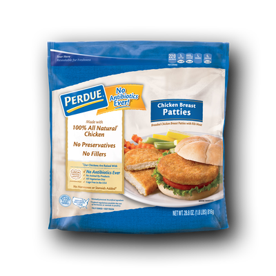 Perdue Breaded Chicken Breast Patties