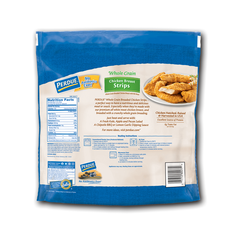 Perdue Whole Grain Chicken Breast Strips image number 1