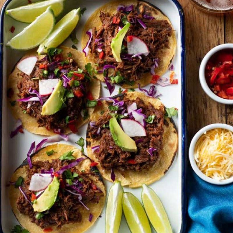 Easy Shredded Beef Street Tacos image number 0