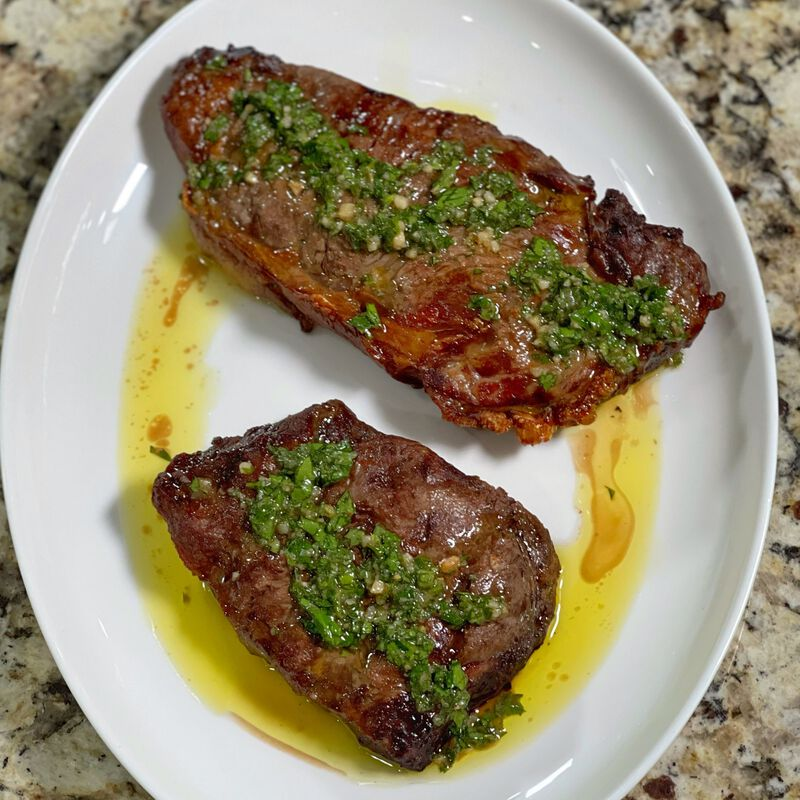 Niman Ranch Chimichurri Steak image number 0