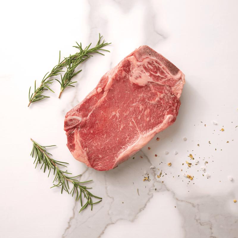 Niman Ranch Bone-In Strip Steak image number 1