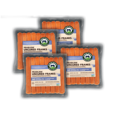 Niman Ranch Pork and Beef Franks Value Bundle