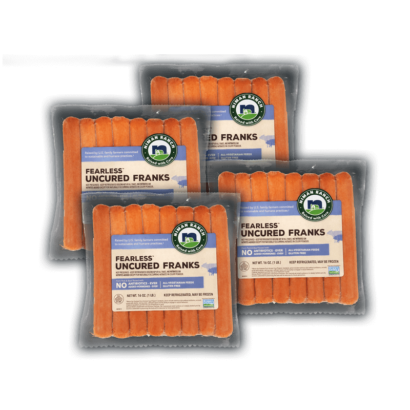 Niman Ranch Pork and Beef Franks Value Bundle image number 0