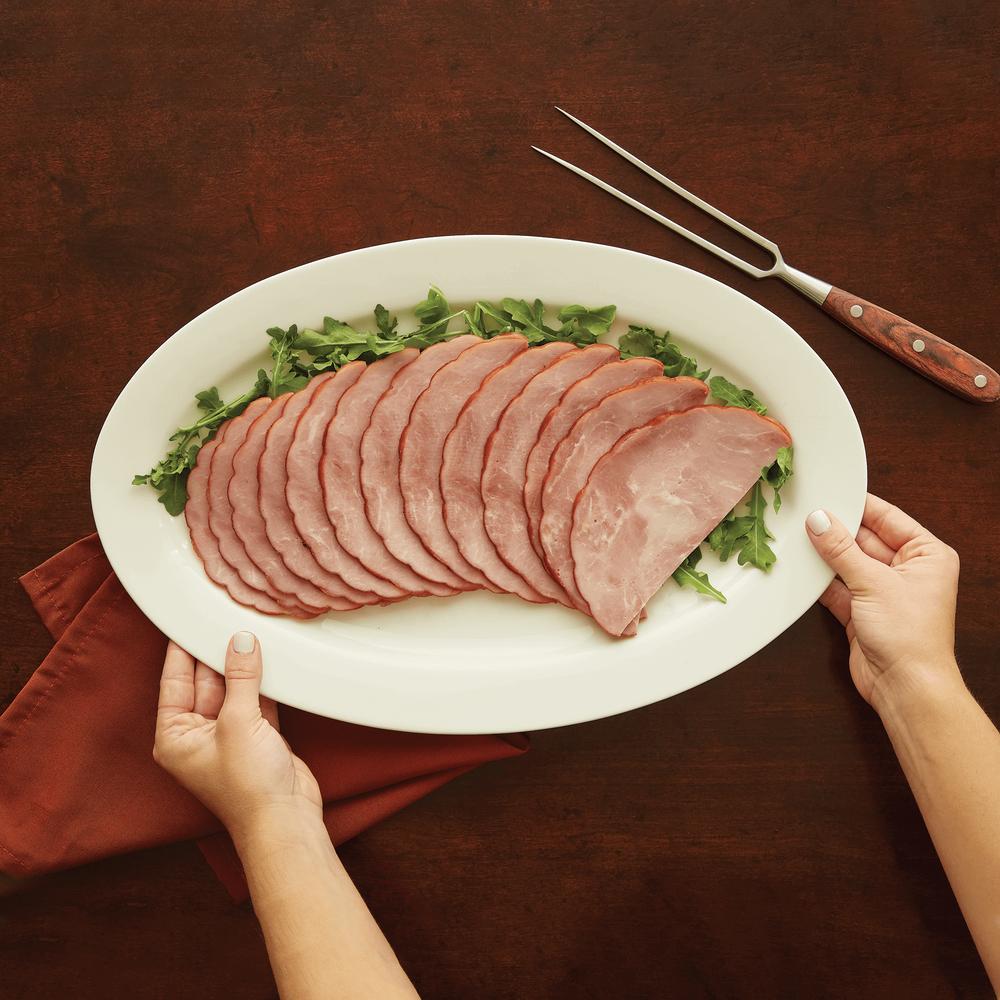 Niman Ranch Sliced Applewood Smoked Uncured Quarter Ham image number 1