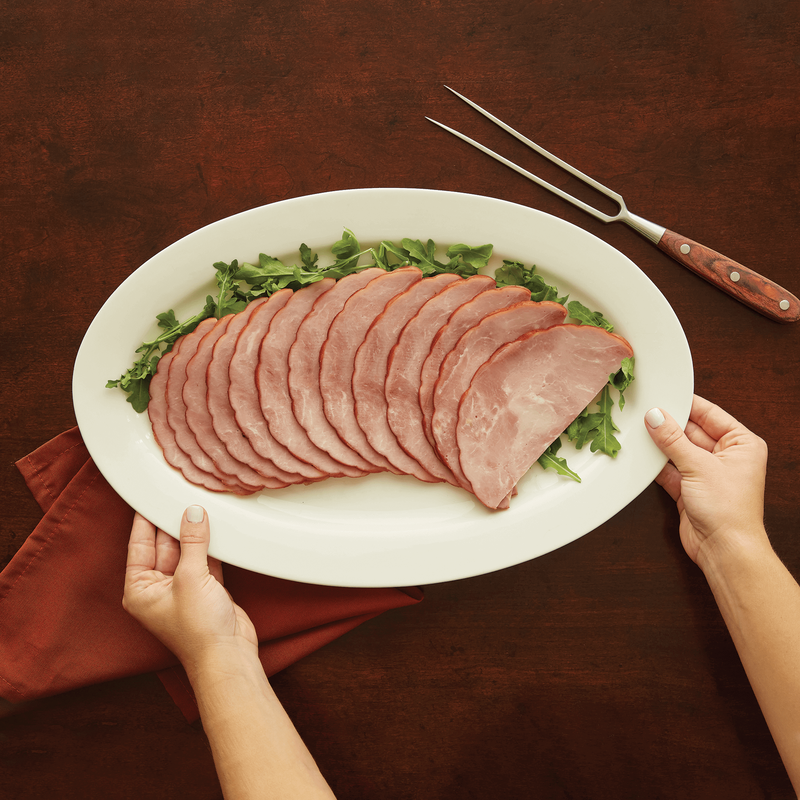 Niman Ranch Sliced Applewood Smoked Uncured Quarter Ham image number 1