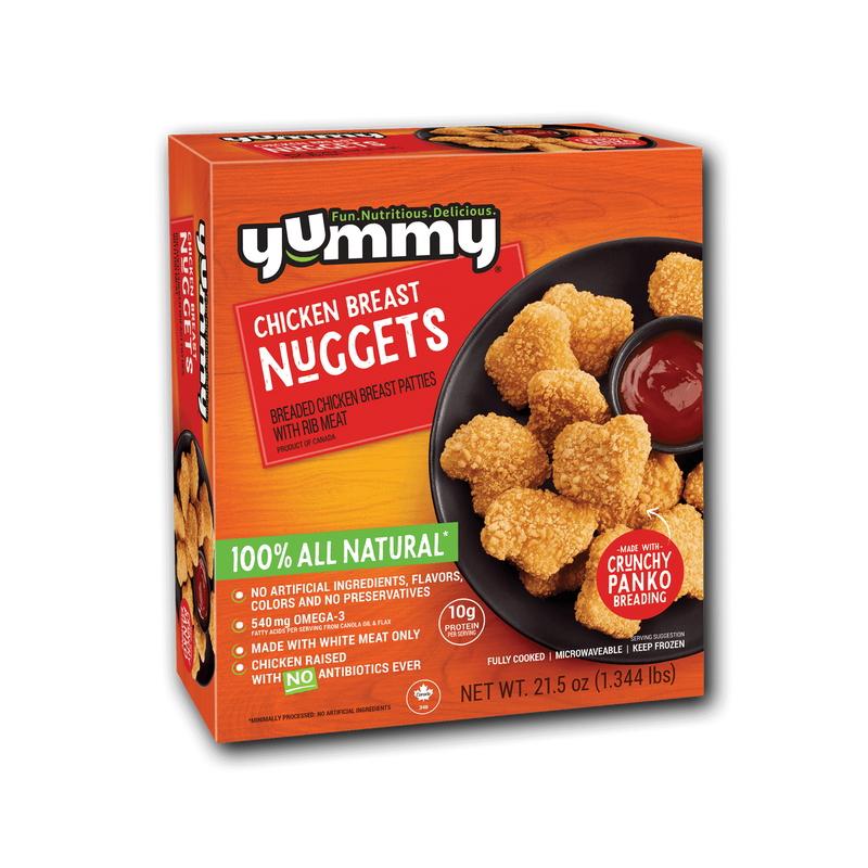 Yummy All Natural Chicken Breast Nuggets image number 3