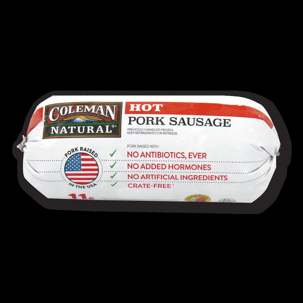 Coleman Natural Hot Ground Sausage image number 3