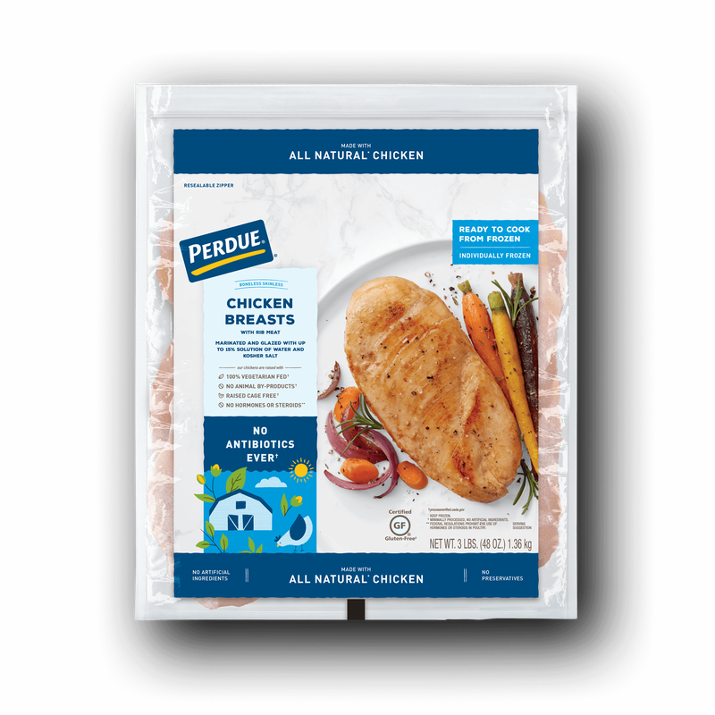 Perdue Boneless Skinless Chicken Breasts image number 1