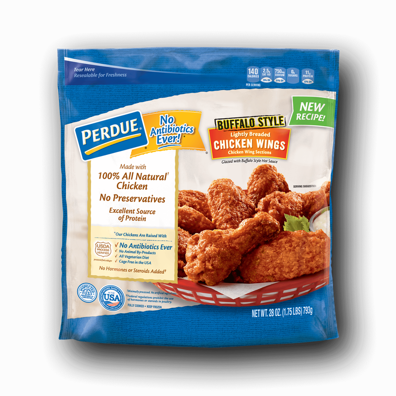 Perdue Buffalo-Style Glazed Chicken Wings image number 0