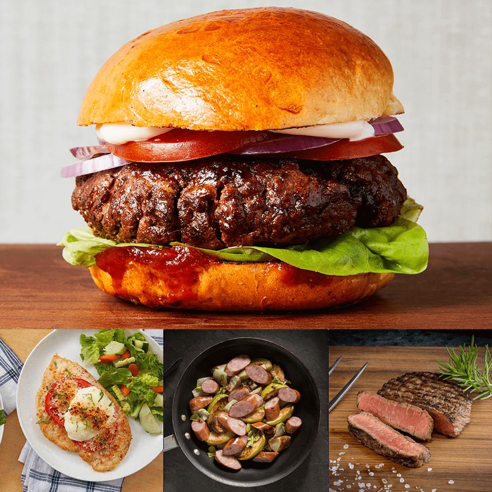 Premium Steak, Sausage and Burgers Gift Bundle image number 4