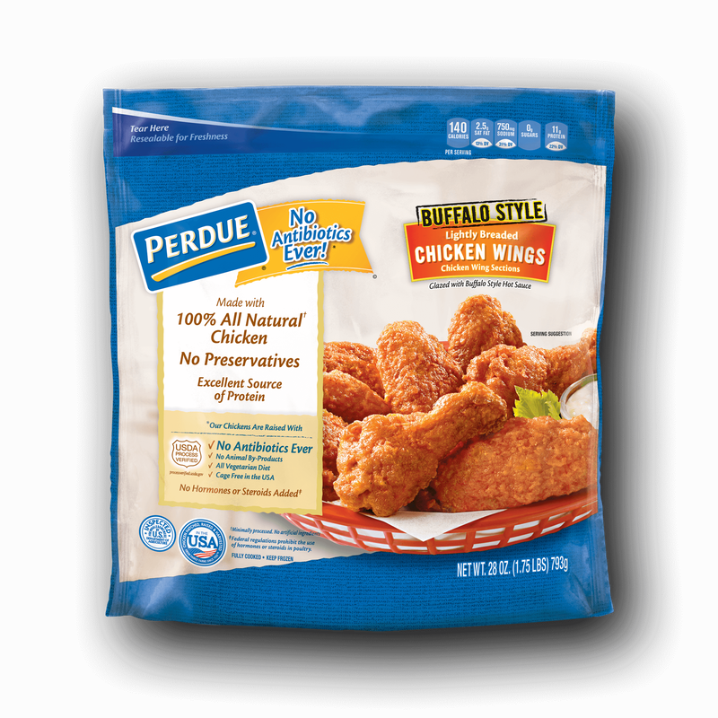 Perdue Lightly Breaded Buffalo-Style Chicken Wings image number 0