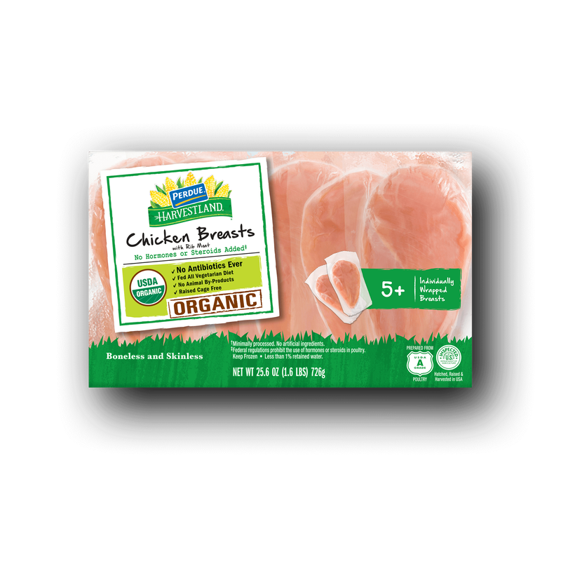 Perdue Harvestland Organic Boneless Skinless Chicken Breasts image number 0