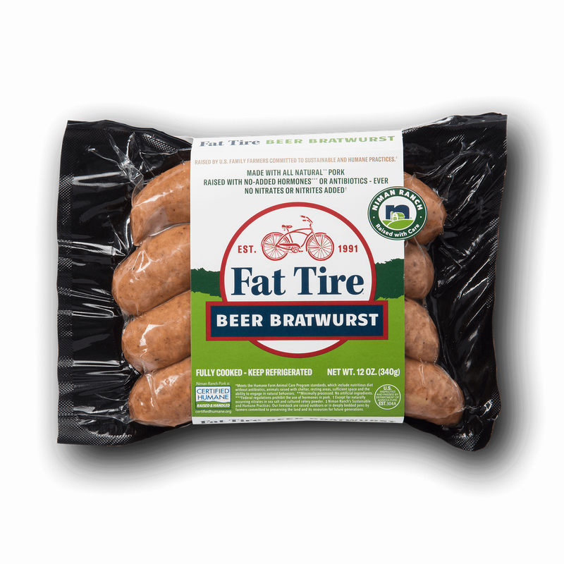 Niman Ranch Fat Tire Beer Brats image number 0