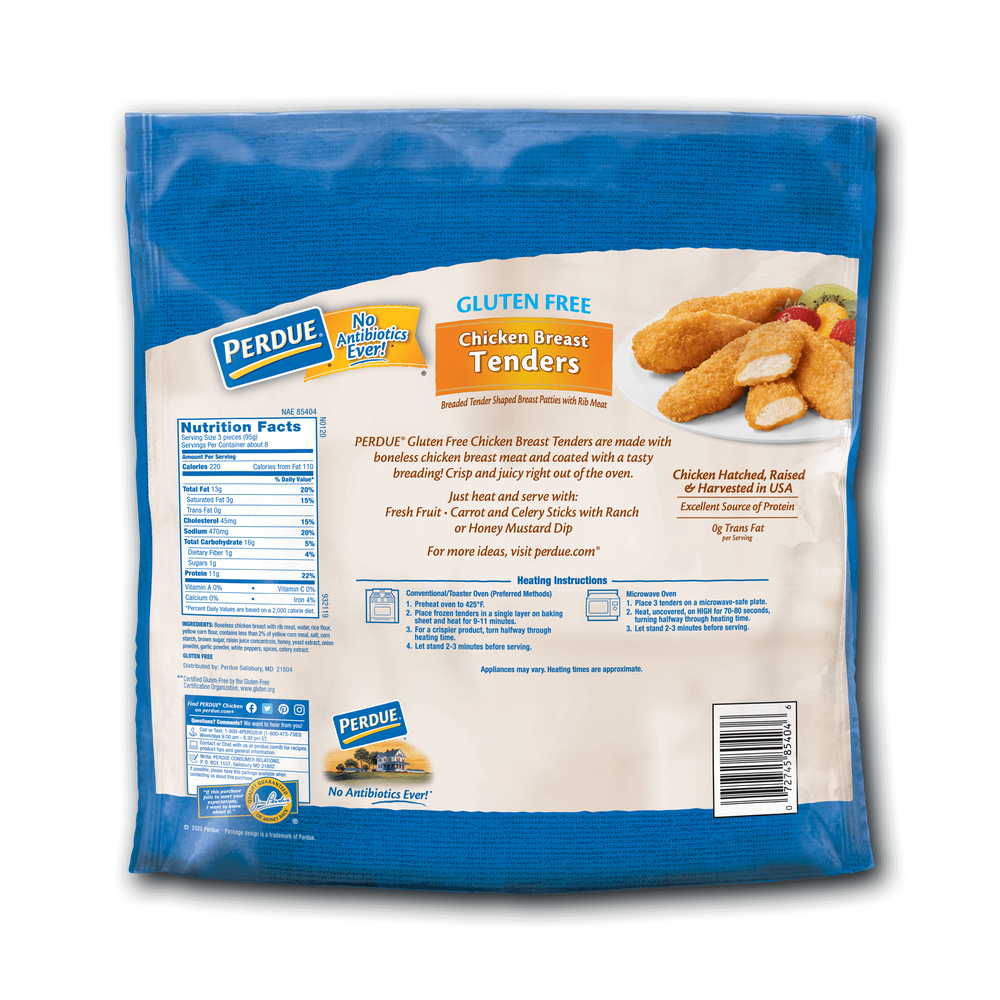 Perdue Breaded Chicken Breast Tenders Gluten Free image number 1
