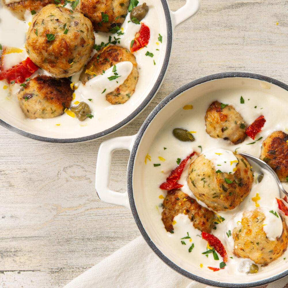 Greek Chicken Meatballs image number 0