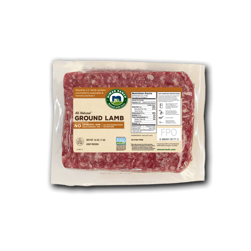 Niman Ranch Ground Lamb